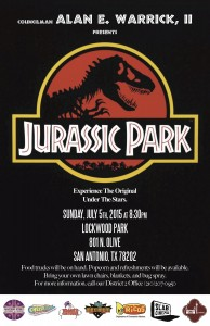 Final Movie at the Park Flyer